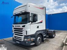 Nyergesvontató Scania R 400 használt veszélyes termékek/a Veszélyes Áruk Nemzetközi Közúti Szállításáról szóló Európai Megállapodás