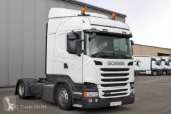 Tracteur convoi exceptionnel Scania R 450 SCOnly Standklima etade ACC LDW 2xTank