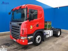 Tracteur Scania G 420 produits dangereux / adr accidenté