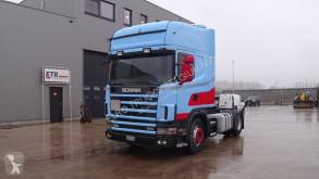 Tracteur Scania 114 - 380 Topline (MANUAL GEARBOX / BOITE MANUELLE) occasion