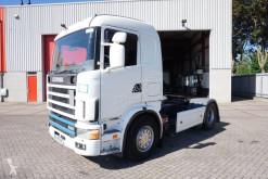 Trattore Scania 144-530 / / MANUAL / / NICE TRUCK / RUNNING / / 1999 incidentato