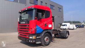 Tracteur Scania 124 - 400 (MANUAL PUMP AND GEARBOX / BOITE ET POMPE MANUELLE / EURO 2) occasion