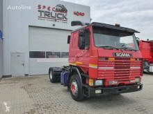 Tracteur Scania 113 M 360 ,Manual Pumpe, Steel/Air