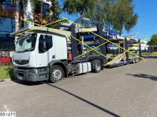 Lastbil med släp biltransport Renault Premium 450