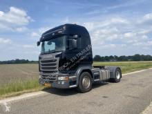 Cabeza tractora Scania R 450 accidentada