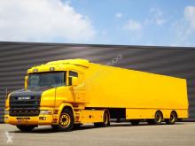 Tractora semi Scania T 114 furgón usada