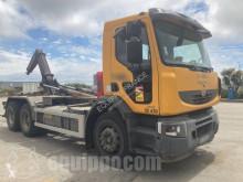 جرار Renault Ampliroll LANDER 380-26 - 6x4 Carrier-tow truck / Camion Porteur-Remorqueur