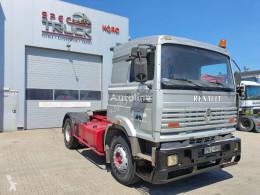 Renault tractor unit Manager 340, Steel / Air, POMPE MANUELLE