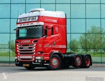 Tracteur Scania R520 V8 TOPLINE 6X2 MANUAL GEARBOX RETARDER occasion