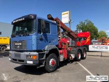 Tracteur MAN 26.460 CRANE - KRAN - GRUE - FULL STEEL - MANUAL occasion