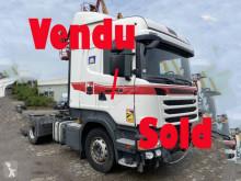 Çekici Scania R 440 kazalı
