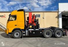 Tahač Volvo 500 EURO 5 6X2 PALFINGER 50002 AÑO 2011 použitý