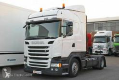 Tratores transporte excepcional Scania R R 450 SCROnly Standklima Retarder ACC LDW 2xTank