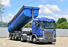 Tracteur Scania G450 Sattelzugmaschine + Anhänger/Kipper !