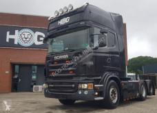 جرار Scania R560-V8 TOPLINE 6X2 BOOGIE with 4 serie interieur مستعمل
