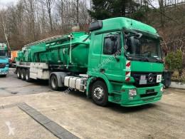 Camion remorque citerne produits chimiques Mercedes Actros 1844Chemietankzug,ADRneu,HU02/