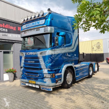 Çekici Scania R580 V8 R580 LA6X2HNB Euro 6 original holland truck ikinci el araç