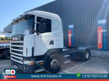 Çekici Scania 124 420 manual hydraulic