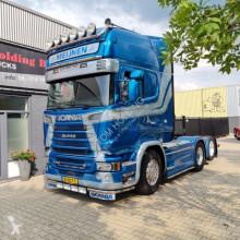 Cabeza tractora Scania R580 V8 R580 LA6X2HNB on reservation reserviert gereserveerd Eur usada
