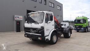 Tracteur Mercedes NG 1626 V8 (GRAND PONT / SUSPENSION LAMES / V8 MOTEUR / AVEC GRUE) occasion