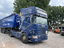 Cabeza tractora Scania L 124. R 420 Top Liner usada