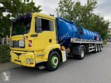 MAN TGA 18.460 Saug- und Druckwagen/25000L used sewer cleaning trailer