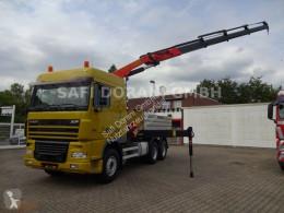Kamión hákový nosič kontajnerov DAF 95.430 SZM + PK 23002 Kran Kipper Wechselsys 6x4