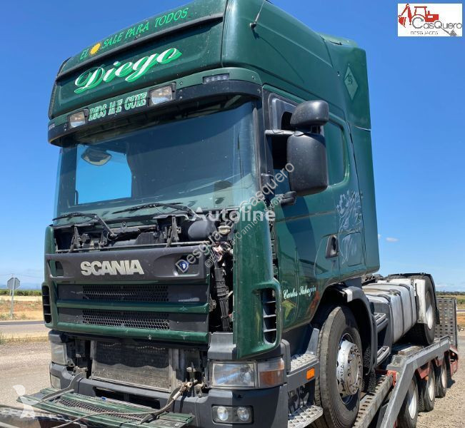View images Scania 124 470 tractor unit