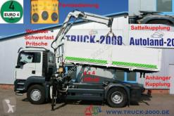 Camión MAN TGS TGS 18.320 4x4H SZM + Pritsche Atlas Kran 1.Hand caja abierta teleros usado