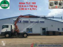 Grue mobile MAN TGS 18.360 Atlas Kran TLC 165.2E 12.6 m = 780 kg