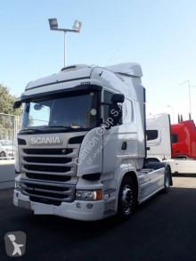 Scania R tractor unit used hazardous materials / ADR