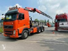 Tracteur Volvo FH FH 500 6X4 EURO 5 / Kran FASSI F455 /Blatt-Blatt convoi exceptionnel occasion