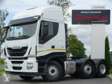 Tracteur convoi exceptionnel Iveco STRALIS 560/ 6X2 / STEERING & LIFTED AXLE/PUSHER