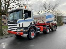 Tractora semi hormigón cuba / Mezclador Scania P124 P124-420 124C 420/4X4/ Mit Betonmischer Liebherr