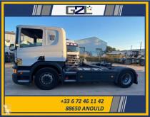 Tracteur Scania P 450 accidenté