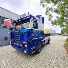 Tractor Scania T143-500 V8 143 500 streamliner manual retarder met NL kenteken