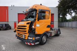 Tracteur Scania R 450 accidenté