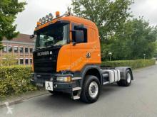 Tracteur Scania G G490 4X4 Kipphydraulik / Retarder / Euro 6 occasion