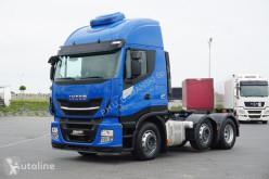 Tracteur Iveco Stralis / 510 / 6 X 2 / EURO 6 / PUSHER / RETARDER / DMC 60 000 occasion