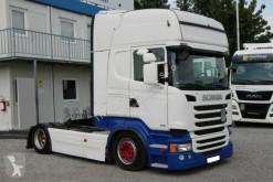Tracteur Scania R410, LOW DECK, TOP LINE, RETARDER, EURO 6 occasion