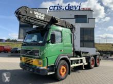 Camion Volvo FM12 FM12 420 6x4 V-Kran V25 | SZM Wechselpritsche grumier occasion