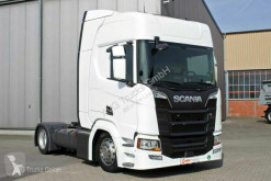 Tracteur convoi exceptionnel Scania R 410 Retarder Standklima ACC LDW 2xTank