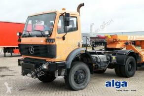 Mercedes 1729 AK 4x4, Allrad, Schalter, Klima, Blattfed. tractor unit used