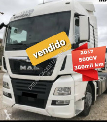 MAN TGX 18.500 tractor unit used low bed