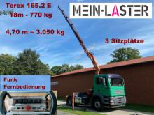 جرار MAN TGL 18.430 Terex 165.2E Kran 18 m-770kg + Funk FB مستعمل