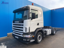 Scania 124 420 Retarder, Manual tractor unit used