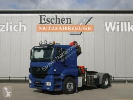 Cabeza tractora Mercedes LS 1840 LS Kran Palfinger PK 15500*FUNK*Klima*1.Hd usada