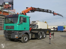 Tracteur MAN TGA TG-A 6x6H BBS SZM Kran Palf. PK 36002+Jib