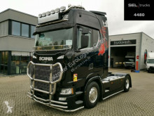 Tracteur Scania S 500 / Retarder / Navi / Leder / FULL EXTRAS