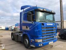 Scania tractor unit L124.420 , RETARDER ,Steel/Air, Manual Pumpe, Euro 2